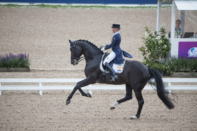 Dante Weltino OLD and Therese Nilshagen at this summers European Championships in Gothenburg - photo credit:Roland Thunholm