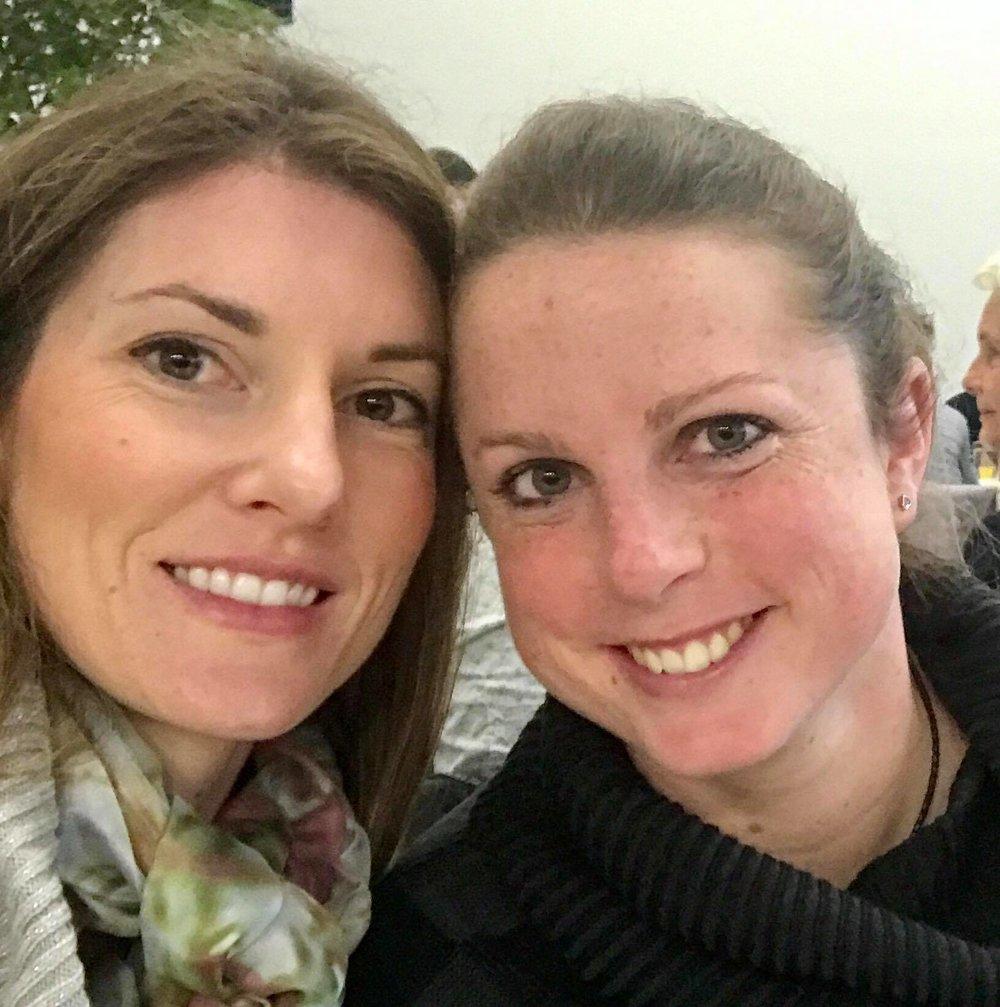 Kimberly Davies and Iris Jansen selfie during the HANN licensing
