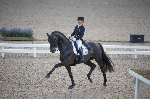 Helen Langehanenberg (GER) will come to Stockholm to ride in the Saab Top 10 Dressage. Photo: Roland Thunholm