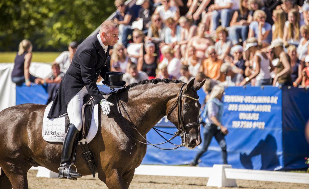 Gallardo V og Michael Søgaard under DM 2017 - photos: H2R