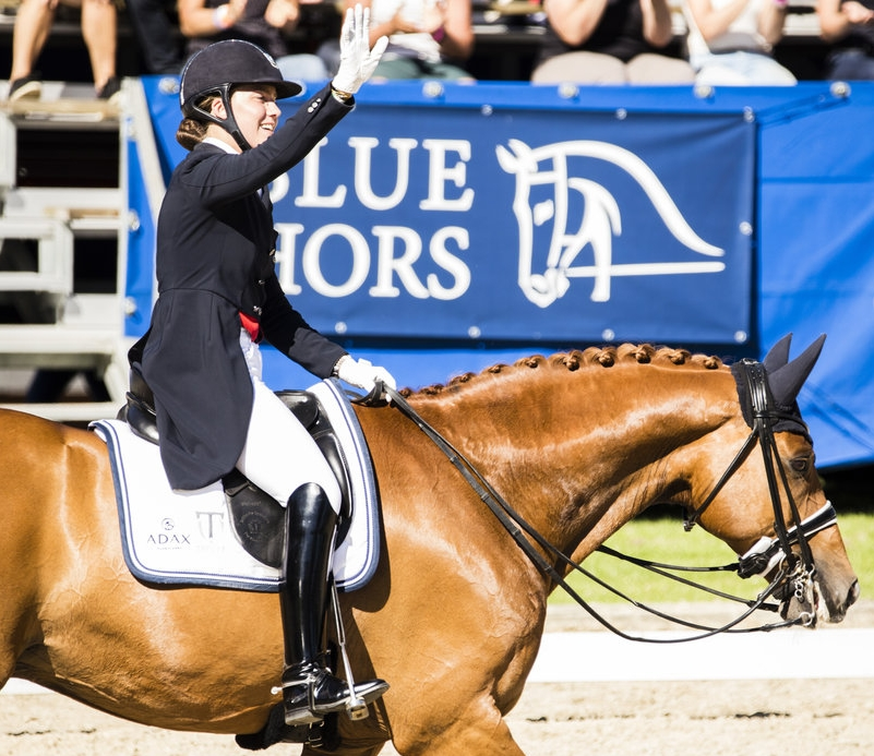 Atterupgaards Cassidy and Cathrine Dufour from another winning moment at 2017 Danish national championships - photo credit: Mikkel-m.com/H2R