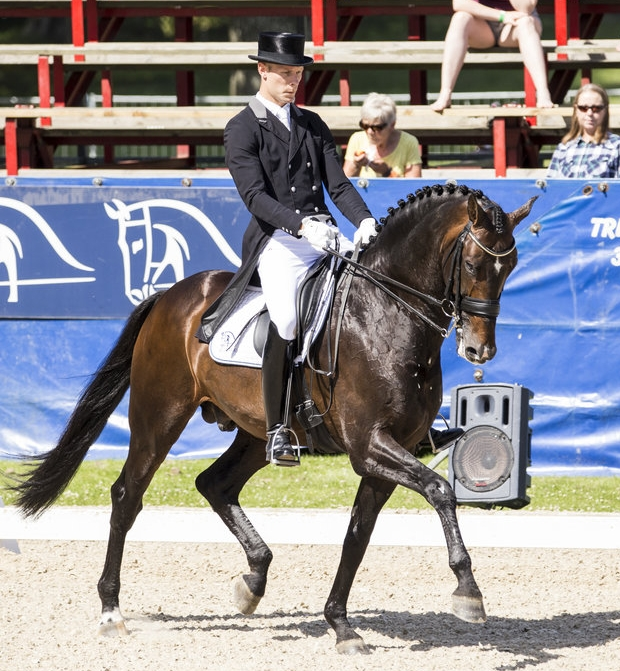 Daniel Bachmann Andersen and Blue Hors Zack, Danish Championships 2017 - photo credit: H2R