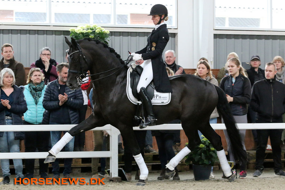 Highlight of the day was 7 year old Fürsten-Look and Isabel Freese. Photo credit: Horsenews.dk