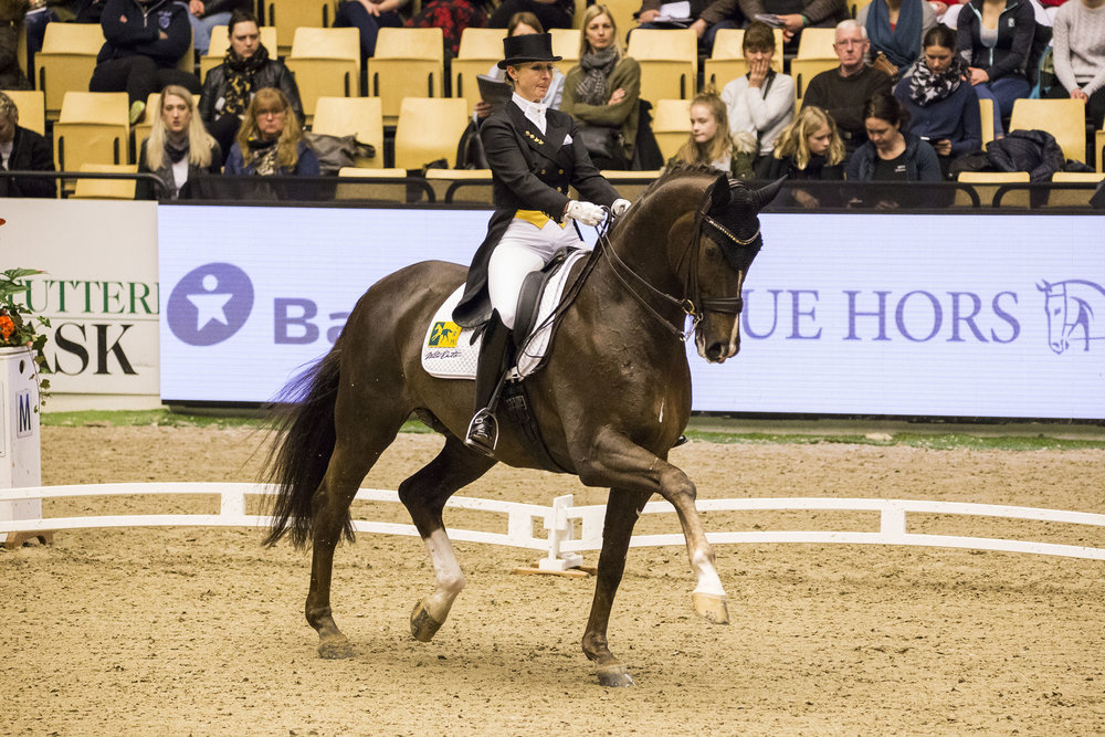 Kristy Oatley and Du Soleil at Herning 2018 - photo credit: H2R