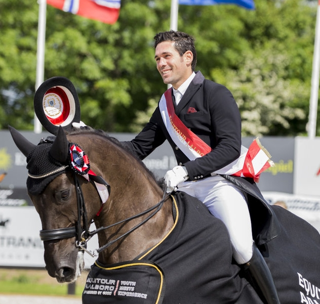 Severo and Deep Impact repeats last years success at Equitour Aalborg - photo credit: H2R