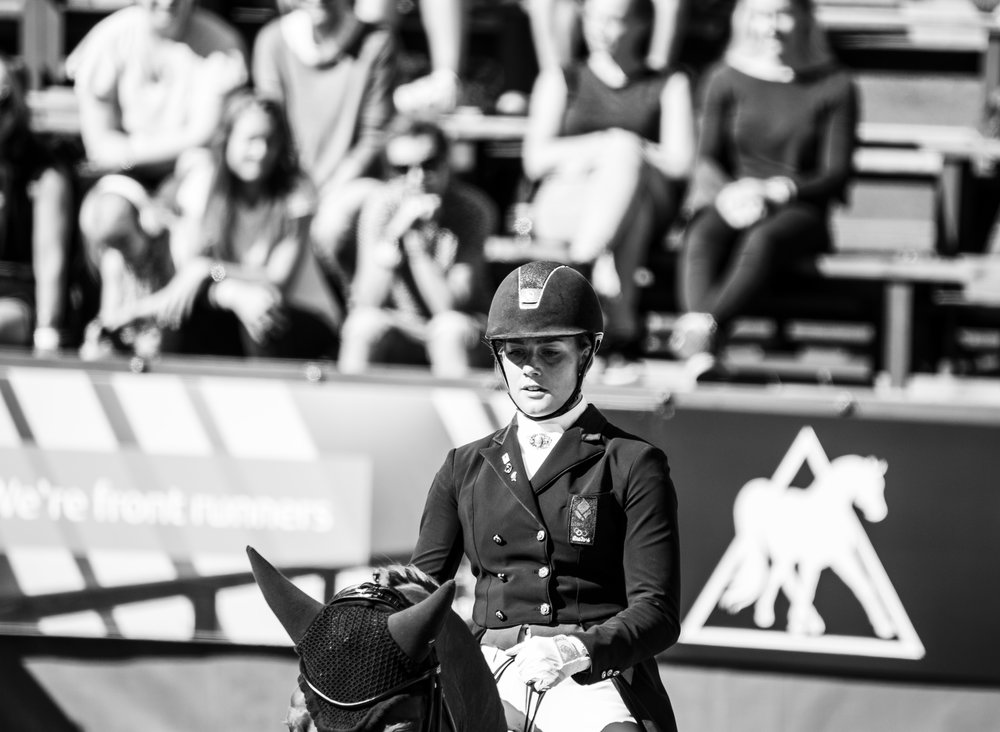 Concentration pure from Cathrine Dufour at Danish championship