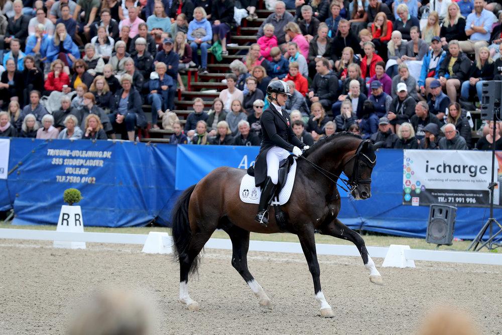 Bronzevindere Anna Zibrandtsen med Arlando. Photo credit: Thomas Bisgaard