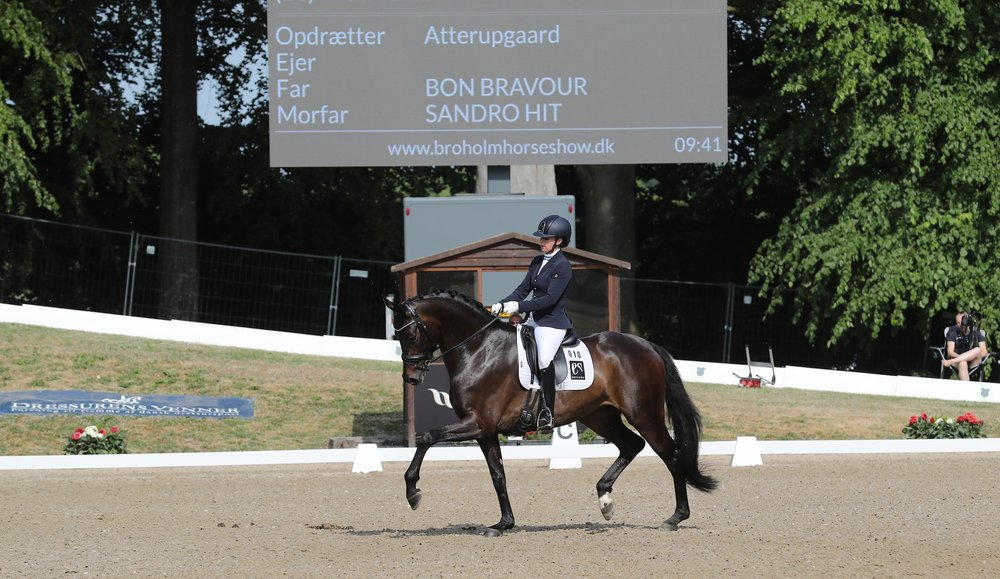 Vinder af 5 års Selina Solberg Vittinghus med Atterupgaards Delorean - photo credit: Thomas Bisgaard.