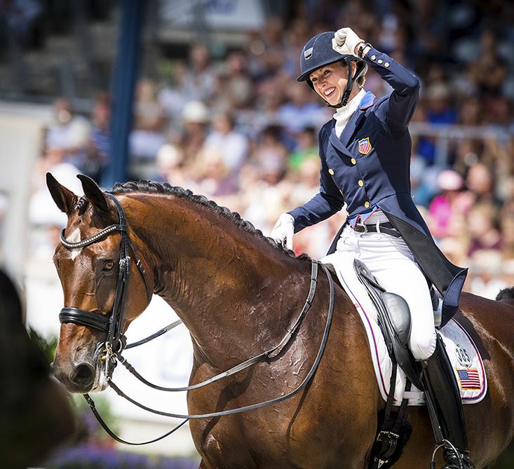 Laura Graves at the CHIO Aachen last year. Photo: CHIO Aachen/Arnd Bronkhorst