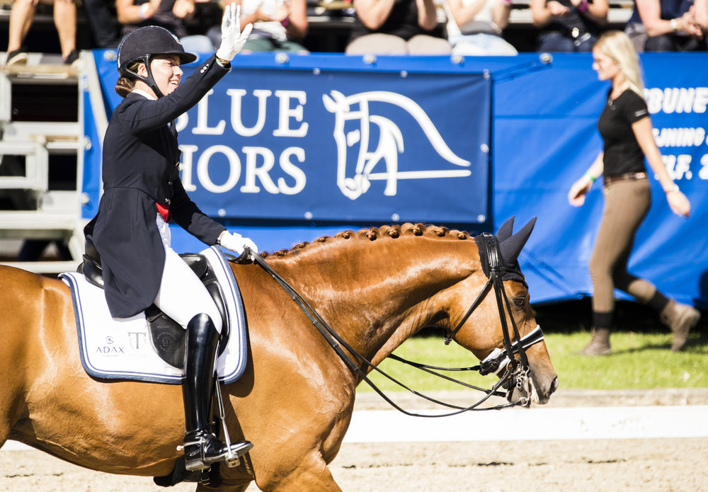 Cathrine Dufour and Atterupgaards Cassidy - photo credit: H2R