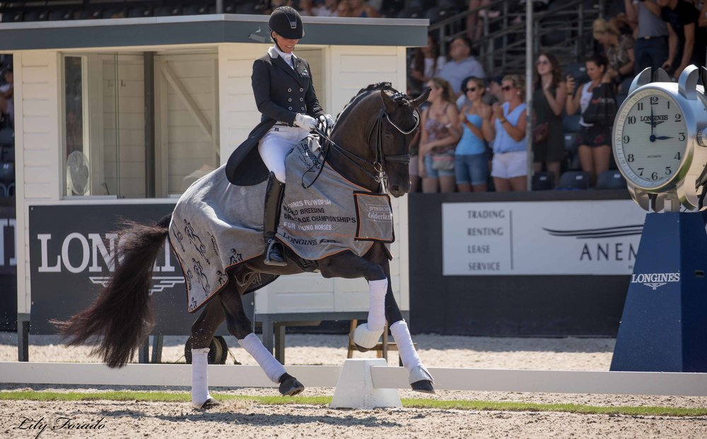 Winner of 7 year old qualifier Fürsten-Look and Isabel Freese - photo credit: Lily Forado