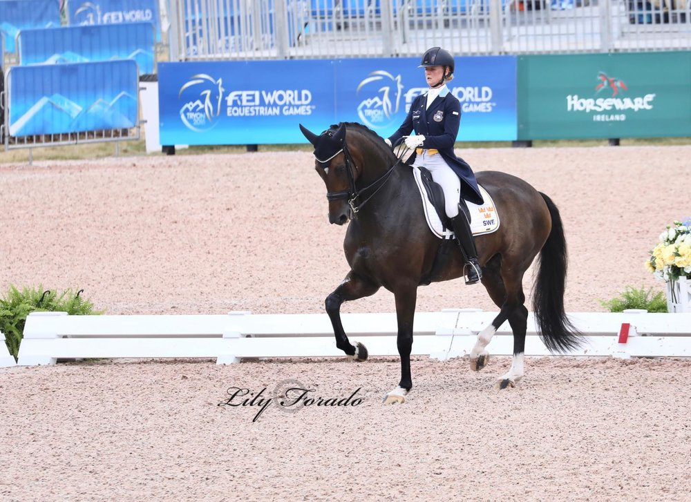 Sweden's Buriel K.H. with Juliette Ramel - photo credit: Lily Forado