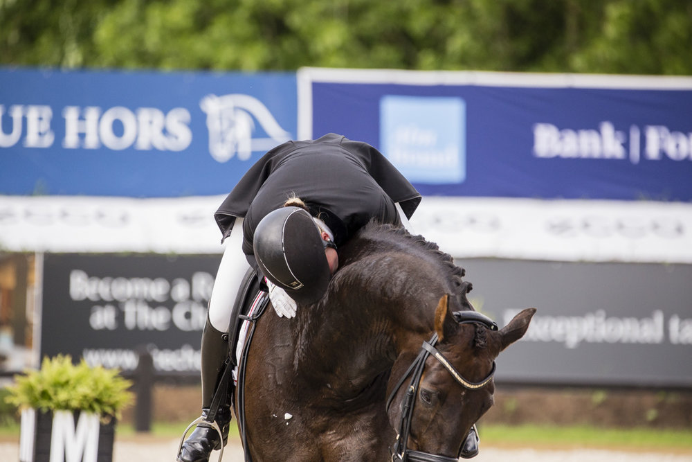 Anna Kasprzak and Pepe during Equitour 2017 - photo credit: H2R