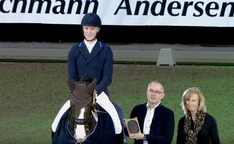 Daniel Bachmann Andersen and Blue Hors Don Olymbrio.