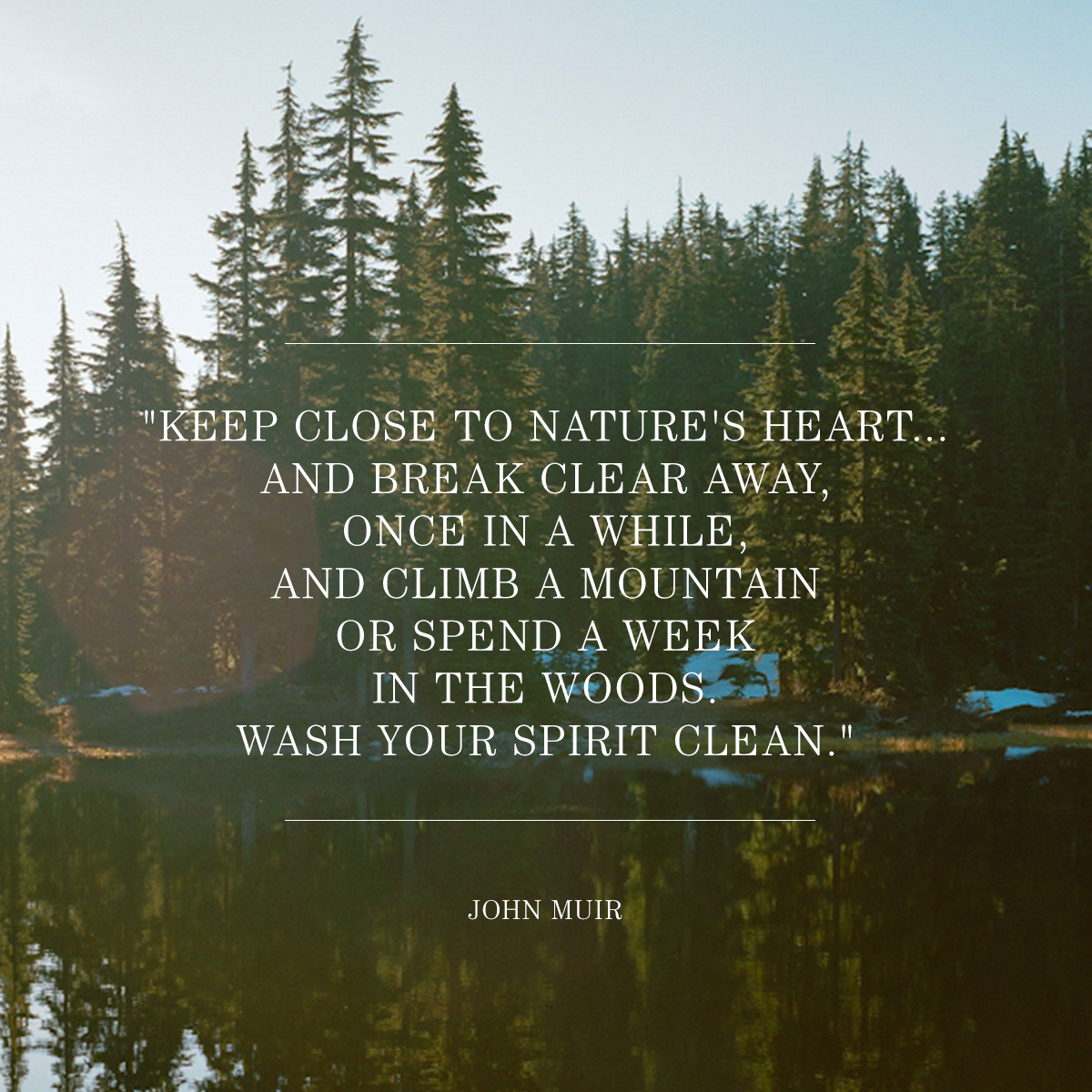 filson :     Today, we're celebrating one of America's most influential naturalists and conservationists.   Happy John Muir Day —