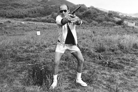"""America… just a nation of two hundred million used car salesmen with all the money we need to buy guns and no qualms about killing anybody else in the world who tries to make us uncomfortable."" -  Hunter S Thompson."