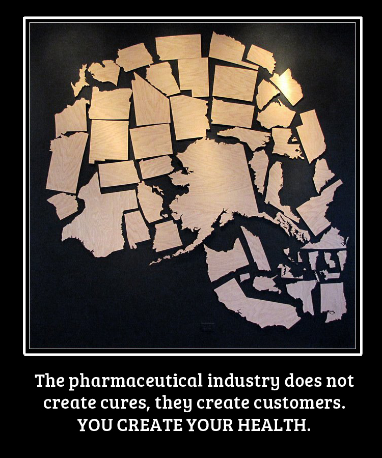 gochiropractice :     The pharmaceutical industry does not create cures, they create customers. You create your health.