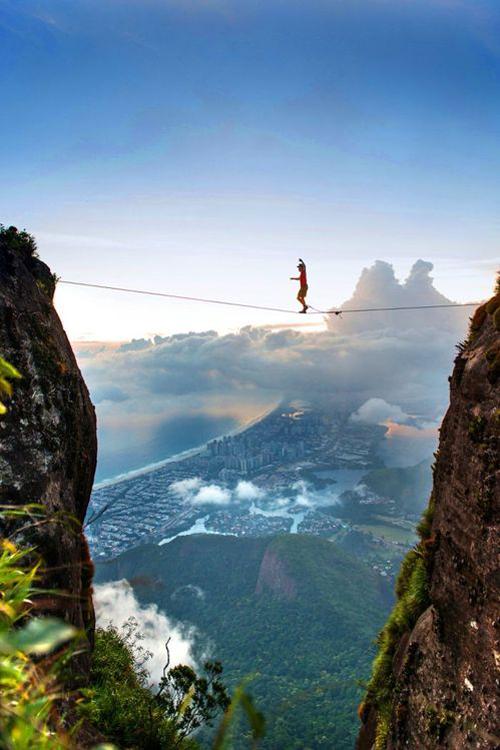 orionfalls :      plasmatics-life :      Tightrope Samba over Rio De Janeiro ~ By Mark      Q'd