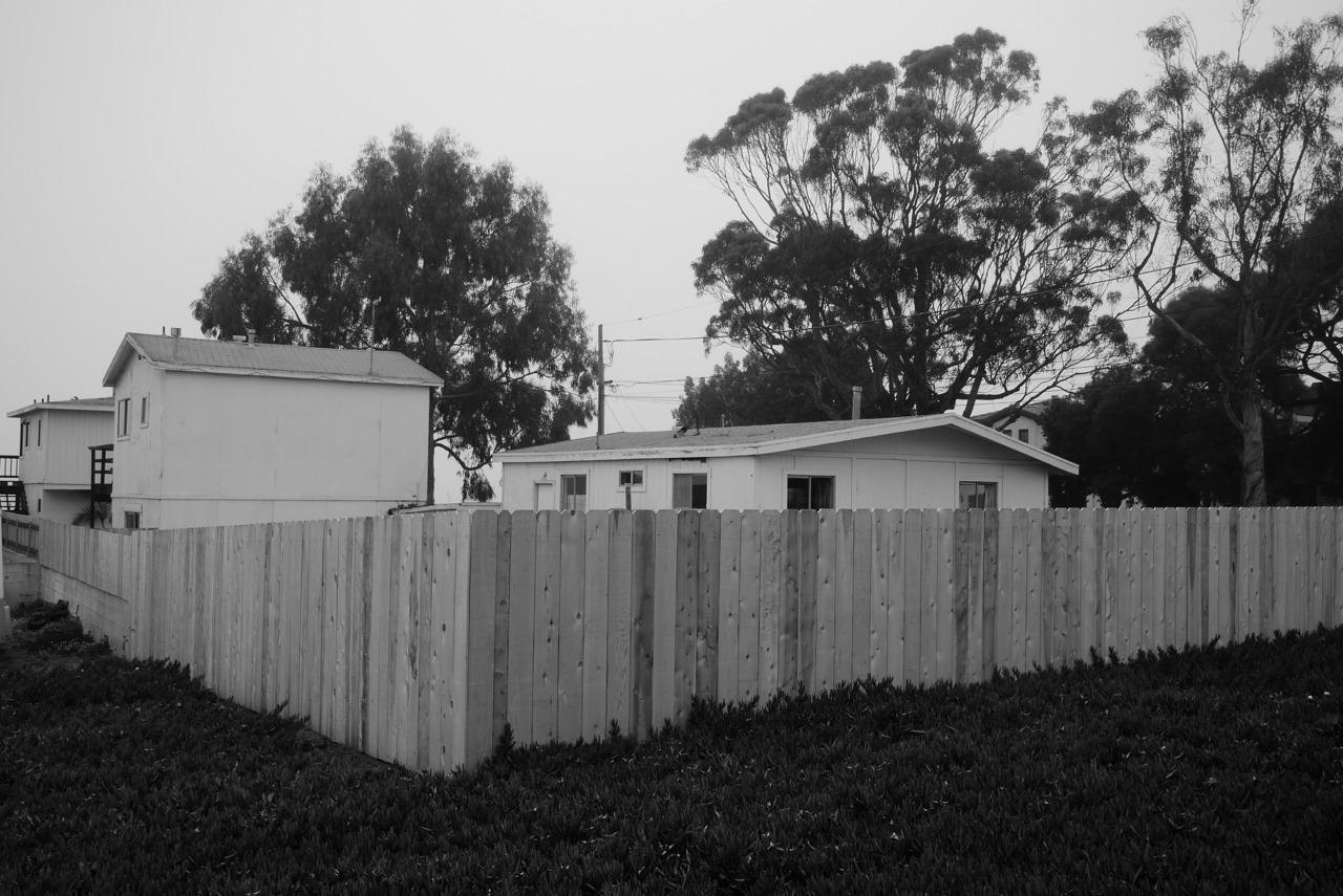 Picket fencing in Moro Bay Ca.