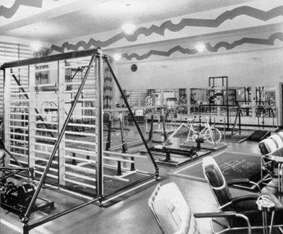 Chiropractic Gym circa 1930