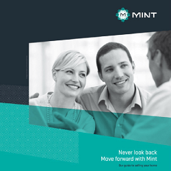 Click to view one of the brochures we wrote for Mint.