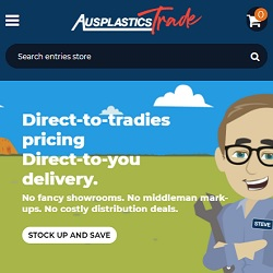 Click to see the new Ausplastics Trade website (and our copywriters' work).