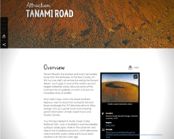 Click image to view description of Tanami Road