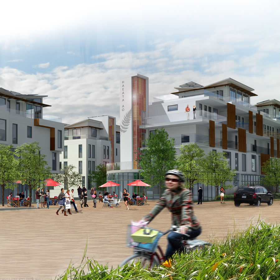 "<h3 style=""color:white"">Haeata Ao</h3> </br>New Urban Village"
