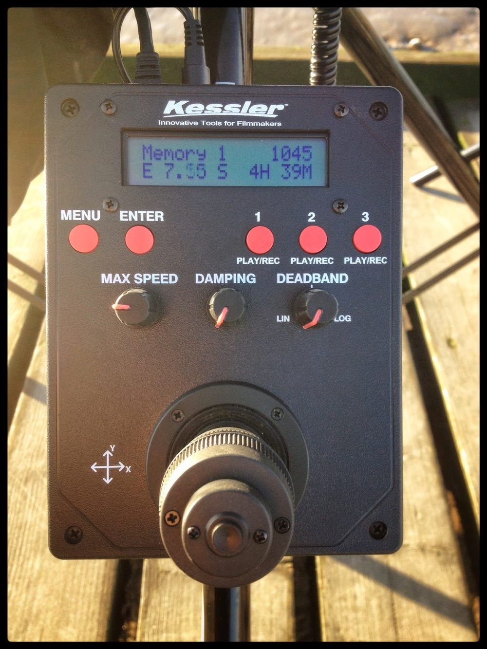 Kessler crane timer oracle controler control count down timelapse uk england
