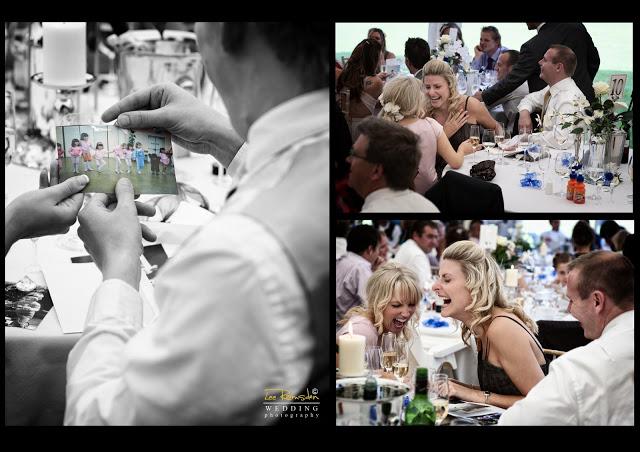 James Gemma Hert wedding humour pictures