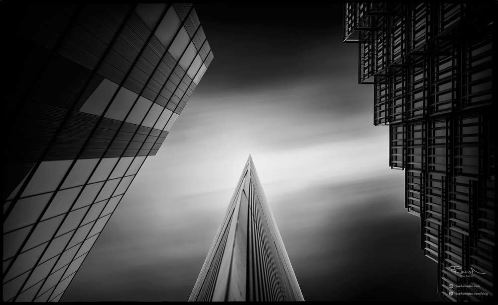 monochrome architectural architect detail London moreLondon abstract art fine