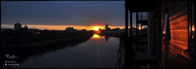 Manchester sunset sunrise Trafford park Nikon D90 Old Trafford