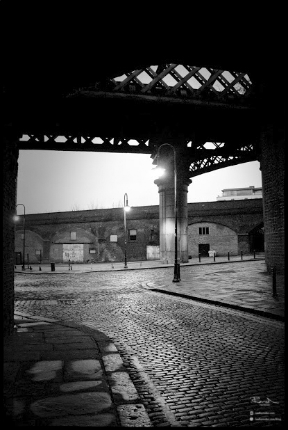Manchester castlefield castle field greater cobbled streets