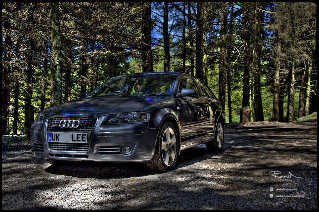 Audi Quattro s-line petrol car RS3 RS 3 quattro limited edition woods car auto vehicle photographer