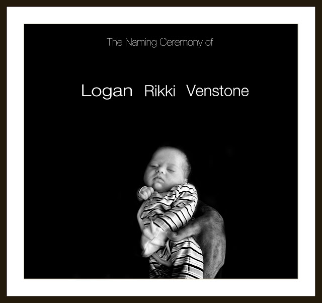 "<img src=""Front Cover.jpg"" alt=""The Naming Ceremony of Logan Rikki Venstone front cover of an album lee ramsden"">"