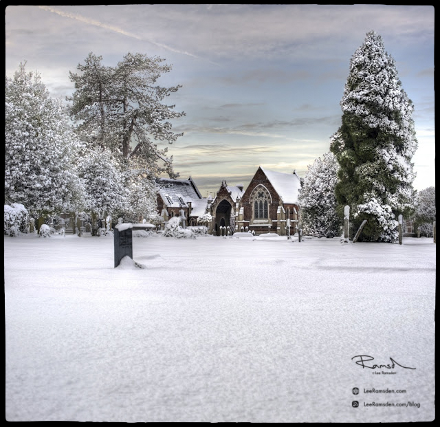 "<img src=""snow scene"" alt=""Dunstable west street baptist church burial grave yard christianity lee ramsden Bedfordshire"">"