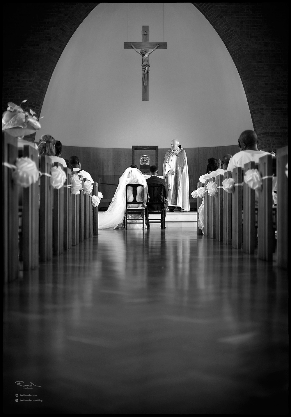 07 London church wedding St Marys Catholic church East Finchley London