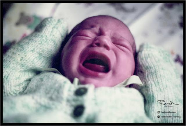 Younger Lee Ramsden baby