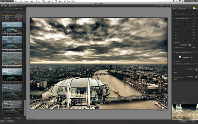 HDR image photoshop tutorial explained