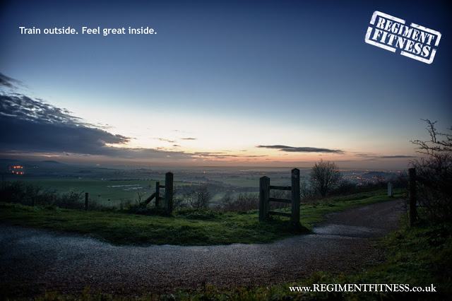 01 Regiment fittness dunstable downs bedfordshire gate