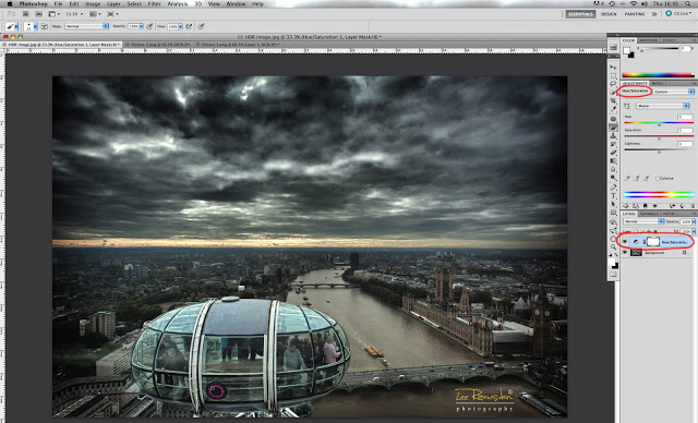 HDR image photoshop tutorial