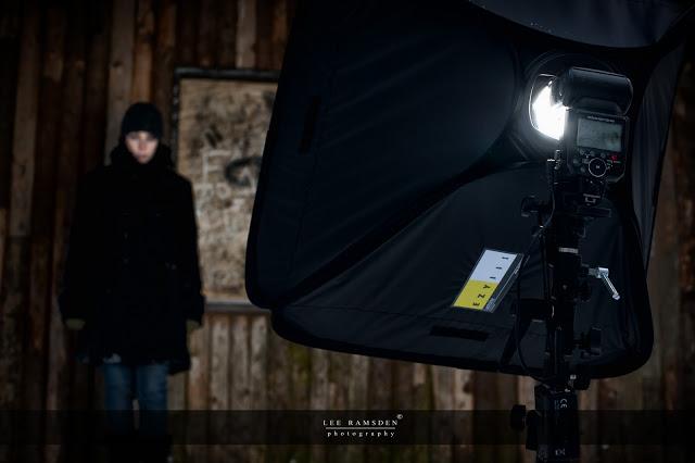 Nikon SB900 Exy soft box Kelly Moss Ramsden snow outdoor flash light Ashridge Berkhamsted Hertfordshire 01