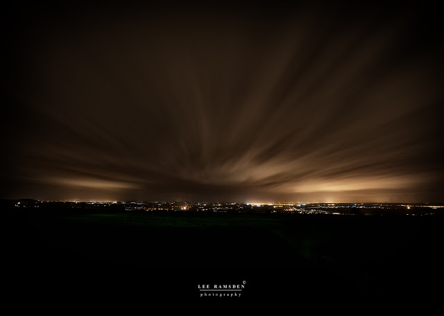 Dunstable downs long exposure night photography