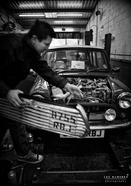 MK garage Milton Keynes classic mini grill