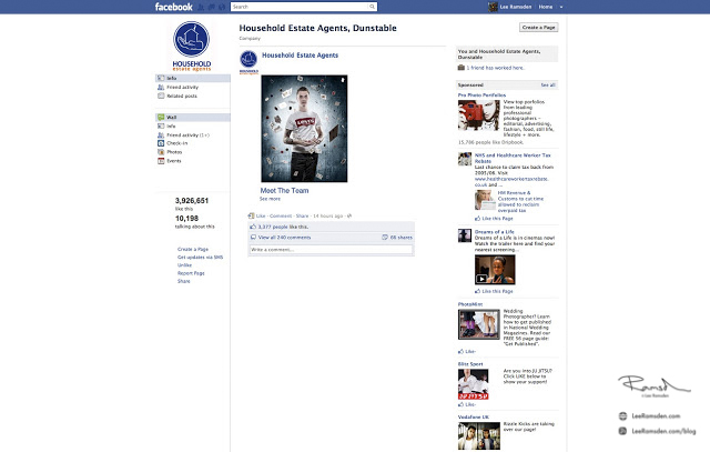 Composite for your business facebook page