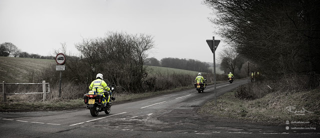 Lee Snowden behind the scenes MET Bedfordshire police traffic cops on motor bikes