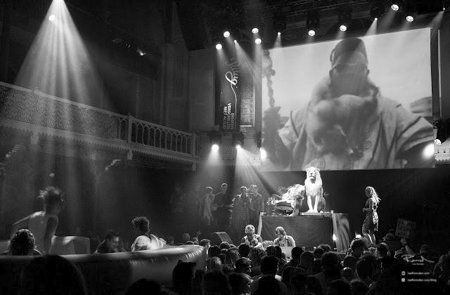 Amsterdam Lumix GF1 low light high ISO amazing camera cafe de paridiso rega bouncy castle lion dj