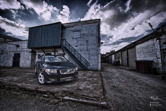 Volvo V50 V60 V70 estate car filming in Markyate Hertfordshire
