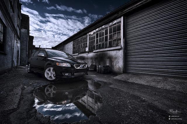 Volvo V50 V60 V70 professional car photography Lancashire Lytham St Annes