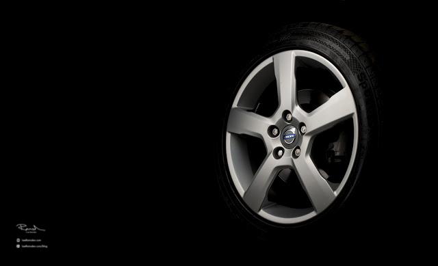 Volvo V50 V60 V70 alloy wheel